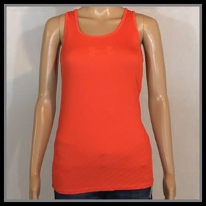 Under Armour Orange Heatgear Tank Top